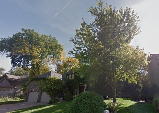 We did backyard tree service in Eden Prairie for a nice couple - Nature's Touch Tree Care and Landscaping